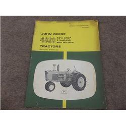 John Deere 4020 Row-Crop STD & Hi Corp