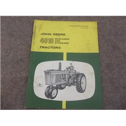 John Deere 4010 Row Crop & STD