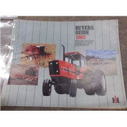IH Tull Bros 1982 Buyers Guide