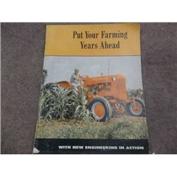 Allis-Chalmers Advertising Laurel Flour & Feed