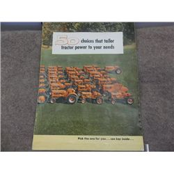 Allis-Chalmers Laurel Flour & Feed  Advertising