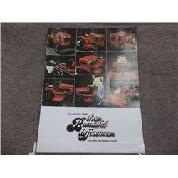 Allis-Chalmers Lawn & Garden Tractors Brochure