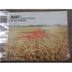 Massey Ferguson MF 300 Combine Brochure