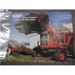 Massey Ferguson Loaders & Spreaders Brochure