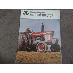 Massey Ferguson MF 1080 Tractor Brochure