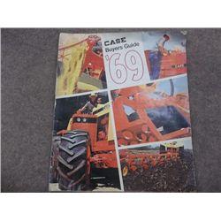 Case '69 Buyers Guide Milford De Case & Power Eq.