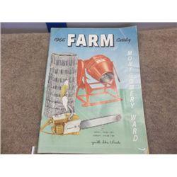 '66 Farm Catalog Montgomery Ward Brochure