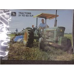 John Deere 31 to 60 HP Tractors