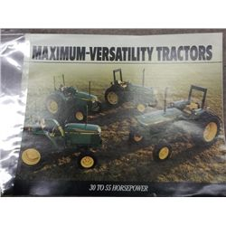 John Deere Maximum-Versatility Tractors 30 - 55 HP