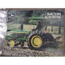 John Deere Tractors 40 to 80 HP