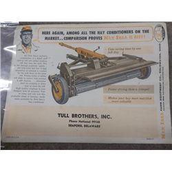 New Idea hay Conditioners Tull Bros