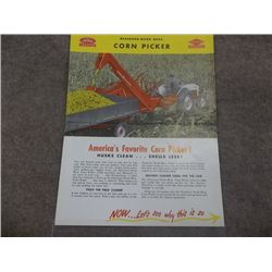 Dearborn Farm Eq (Ford) Corn Picker Brochure