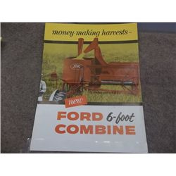 Ford 6-foot combine brochure