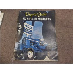 1972 Ford Buyers Guide Parts & Acc. Selbyville, De
