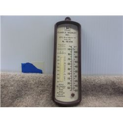Clair D. Worley Thermometer York, Pa JD