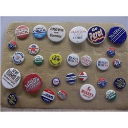 President Campaign Pins 2