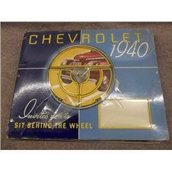 Chevrolet 1940 Brochure with Pop-Ups