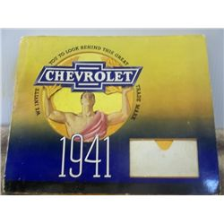 Chevrolet 1941 Brochure with Moving items