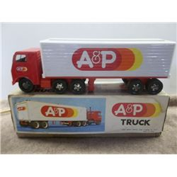 A&P Tractor Trailer Truck Top is Tin