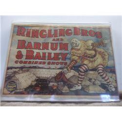 Ringlings Bros & Barnum & Bailey Combined Poster