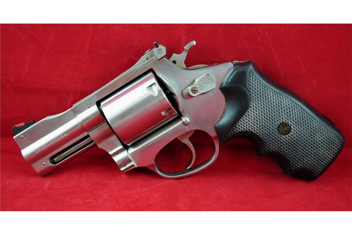 ROSSI M971 357 MAGNUM STAINLESS COMPENSATED REVOLVER