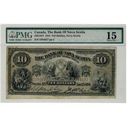 The Bank of Nova Scotia;  1924 $10 #2294627 CH-550-18-18 PMG CH F15.