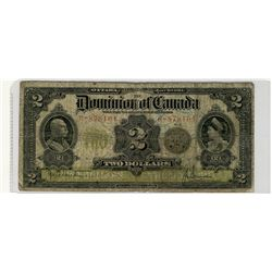 1914 $2 DC-22e #R-878104 VG10 for grade.  Minor crayon writing on front.
