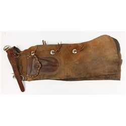 Leather Chaps Owned by Cowboy Dan