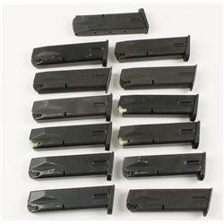 Lot of 13 Beretta 92 Mags