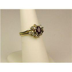 High Quality 14K Yellow Gold Ladies Ring
