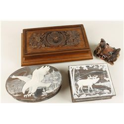 Set of 4 Jewelry Boxes