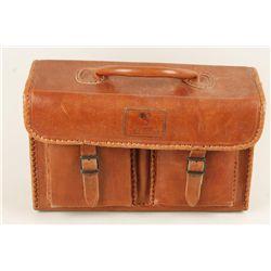 "Saddle Colored Courteney Briefcase ""0618"""