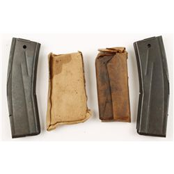 Lot of 4 M1 Carbine Mags