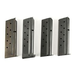 Lot of 4 1911 .38 Super Mags