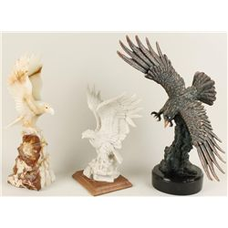 Collection of 3 Eagles