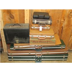 Rifle and Pistol Hard Case Lot