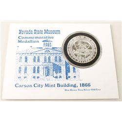 Nevada State Museum 1oz. Silver Coin and Watch