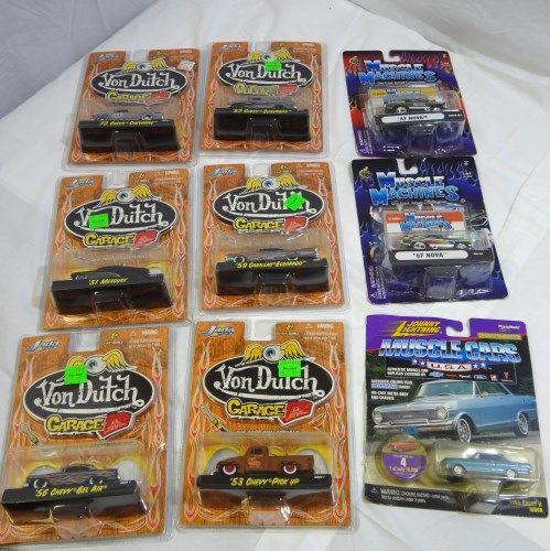 6 Von Jada Machinesamp; Car Toys Cars3 Garage Toys Dutch Muscle 8nwymvN0OP