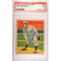 1935 DIAMOND STARS #10 Roy Mahaffey  PSA EX 5.