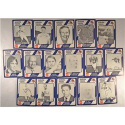 16 Misc. Auburn college football cards.