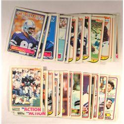 37 Different Dallas Cowboys (80-84 including 3 Tony Dorsett)
