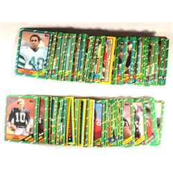 169 Topps Football Cards - 1986.