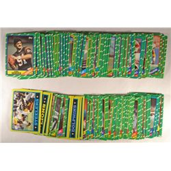 100 Topps Football Cards - 1986.