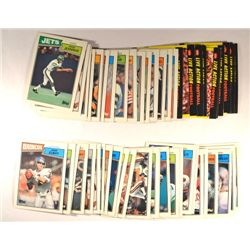 46 Topps Football Cards - 1987.  Including Elway, Largent,