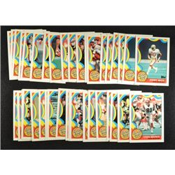 38  -  1989 Topps 1000 Yard Club Cards with some duplicates (2 Jerry Rice).