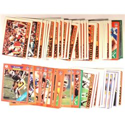 66  -  1989 misc. Football Cards.  Proset, Score, and Topps.  Some duplicates.