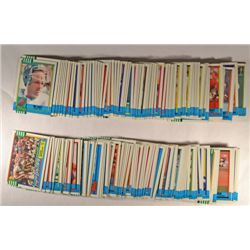 584  -  1990 Topps Football Cards - some duplicates.