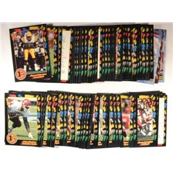 78 misc. College Football Cards - some duplicates (91-95).