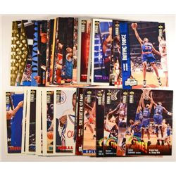 53  --  1994-95 Collectors Choice, NBA Hoops, SP (RC, Duplicates, All Stars)