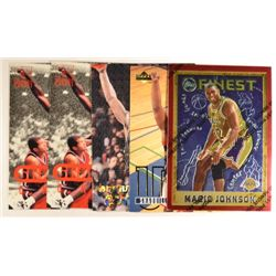 5  --  1995-96 NBA Stars (2-Shaq 96 Score Board, Shaq Stadium Club Spike Says,